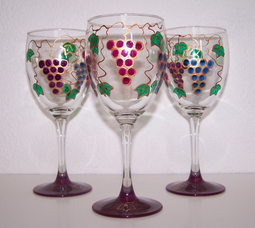 Wine Glasses AB Glass Designs